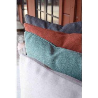 Italian Cream Sustainable Wool Lumbar Pillow Preview