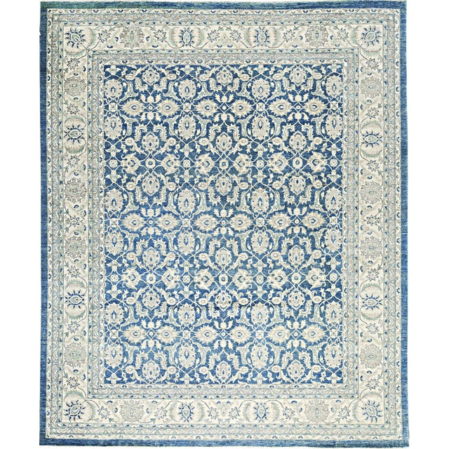 Traditional Hand-Woven Rug - 13'2 X 15'8 For Sale