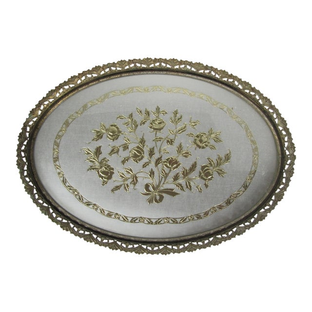 Hollywood Regency Vanity Tray For Sale