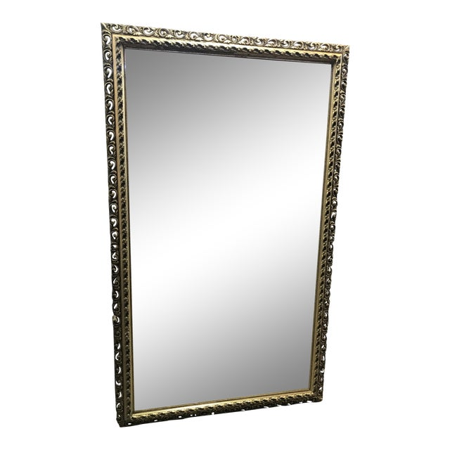 Gold Framed Wall Mirror - Image 1 of 4