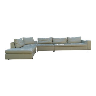 Theodore's Italian Leather Sectional