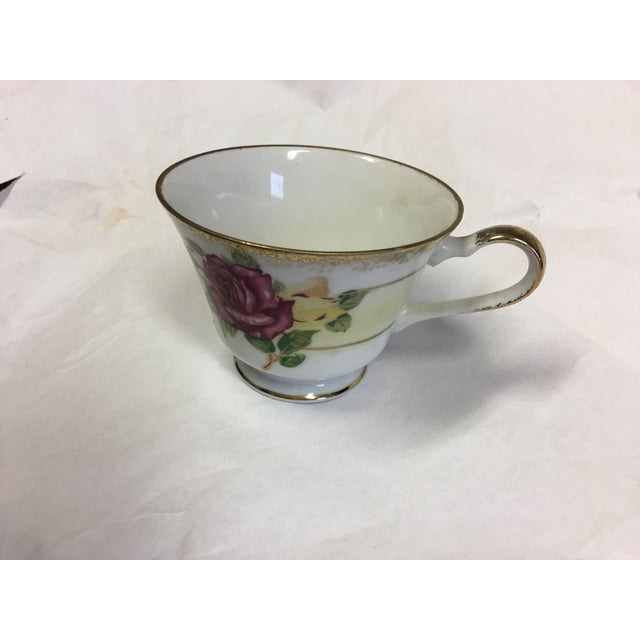 Norleans Japan Vintage China Teacup & Saucer For Sale In New York - Image 6 of 10
