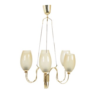 1950's Mid Century Light Fixture by Paavo Tynell Model For Sale