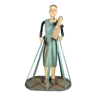 Handcarved Cage Doll Mannequin For Sale