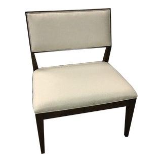Upholstered Henredon Side Chair For Sale