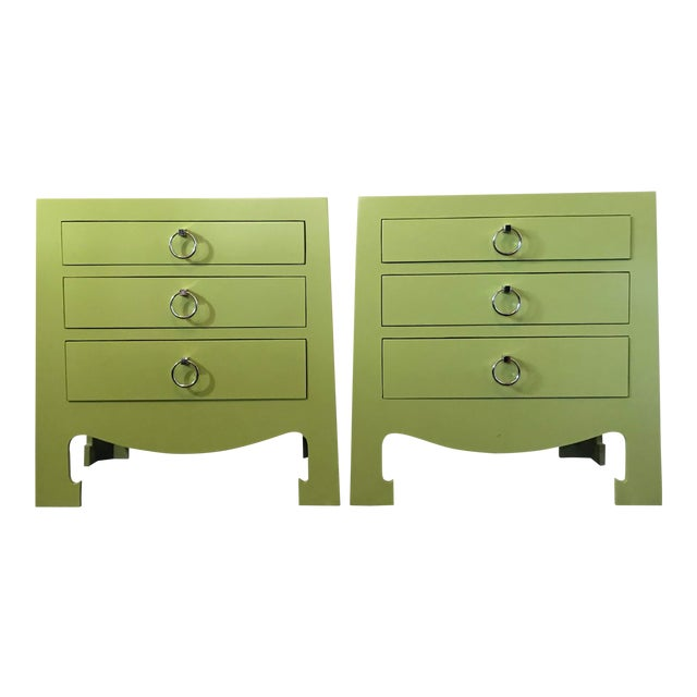 Bungalow 5 Jacqui 3-Drawer Chests - a Pair For Sale