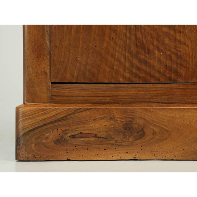 Walnut Antique French Louis Philippe Walnut Nightstand For Sale - Image 7 of 9