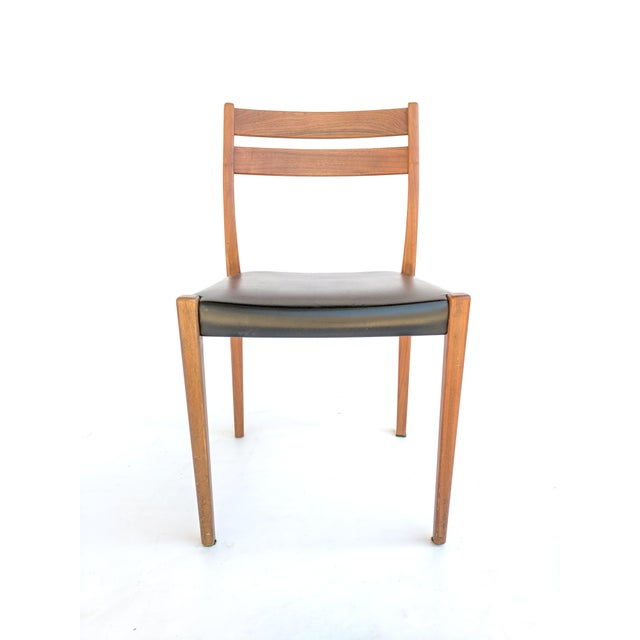 Mid-Century Modern 1960s Svegards Markaryd Swedish Modern Teak Dining / Side Chair For Sale - Image 3 of 9