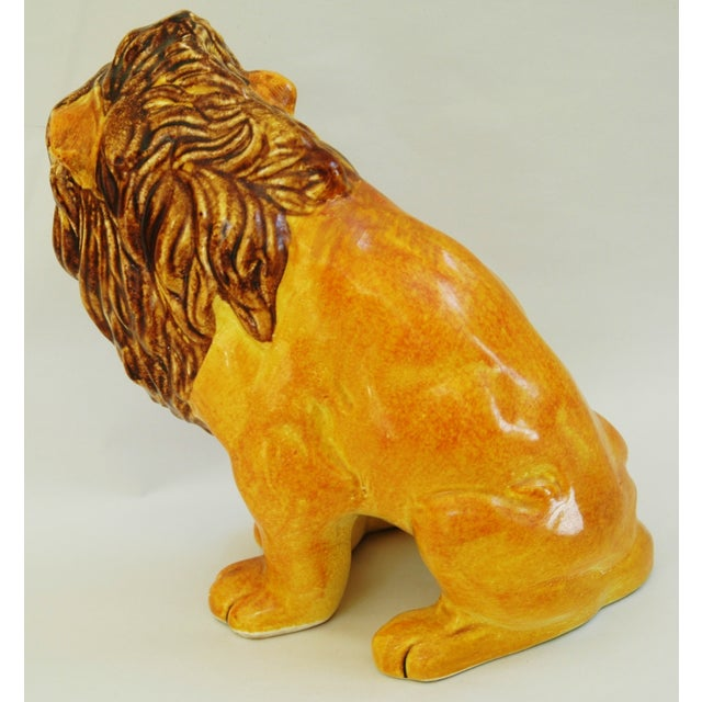 Mid-Century Italian Lion by Bellini - Image 7 of 9