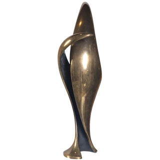 Cast Bronze Sculpture by Tom Bennett For Sale