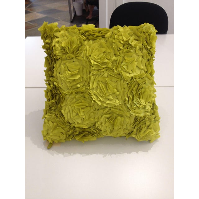 Kendall Wilkinson Green Kalon Pillow - Image 2 of 5