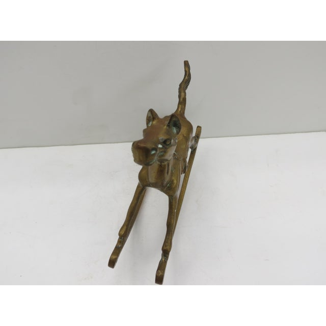 Brass Rocking Horse For Sale - Image 4 of 4