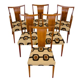 Paul Frankl for Brown Saltman Dining Chairs - Set of 6 For Sale
