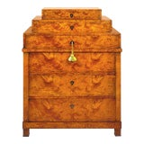 Image of Osiron Chest of Drawers in Figured Olive Burl For Sale