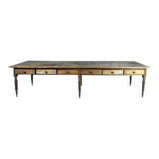 Large Rustic Table For Sale
