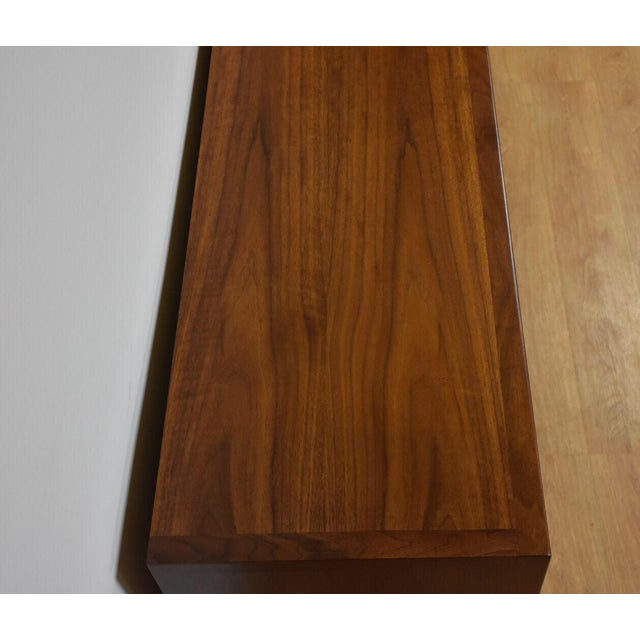 Janus Collection Mt. Airy Walnut Dresser For Sale In Boston - Image 6 of 11