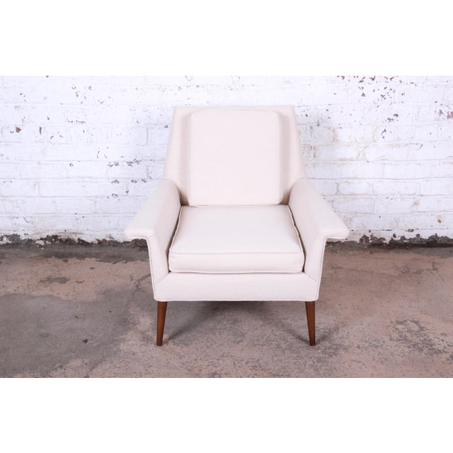 Contemporary Paul McCobb Planner Group Mid-Century Modern Lounge Chair C. 1950s For Sale - Image 3 of 11