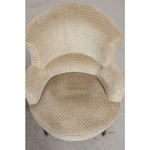 Pair of 19th Century English Upholstered Tub Chairs For Sale In Baton Rouge - Image 6 of 13