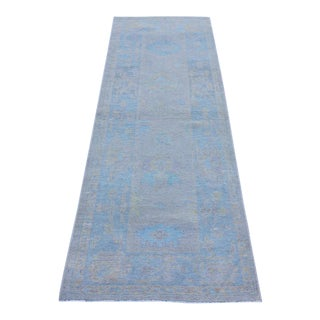 Oushak Turkish Rug Soft Colors - 2'4 X 6'11 For Sale