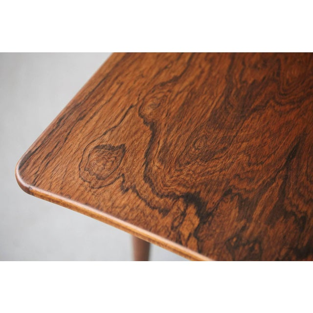 1960s Vintage Rosewood Coffee Table by Kurt Østervig for Jason Møbler For Sale - Image 9 of 11