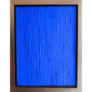 Alexander & Natalia Gore Royal Blue Abstract Painting For Sale