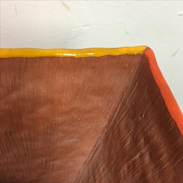 """Brown Velvet Matting """"Earth Vessel"""" - Image 5 of 9"""