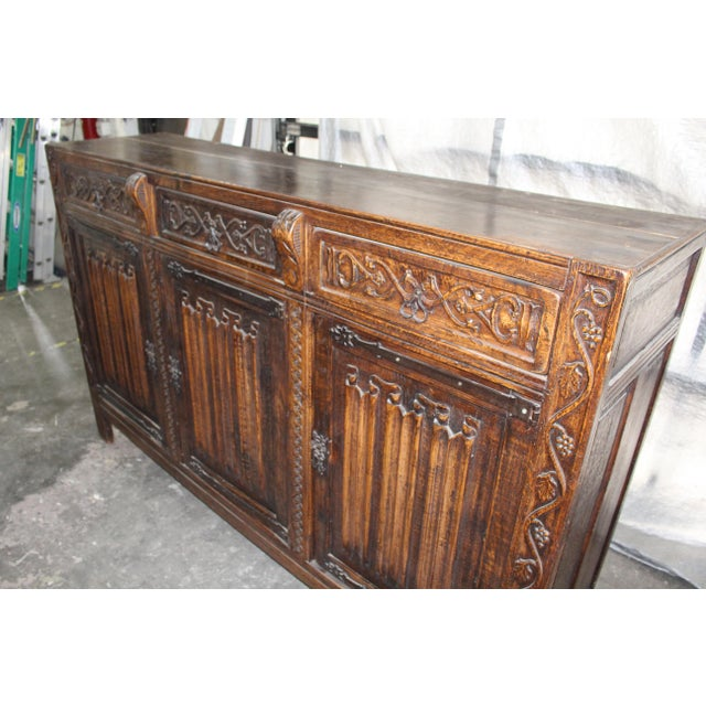 18th Century French Neoclassical Buffet/Sideboard For Sale - Image 4 of 12