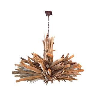 Monumental Driftwood Chandelier