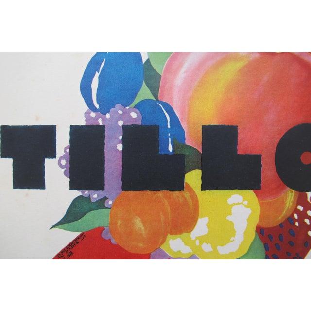 1920s British Art Deco Tip-On Poster, Confitures Tilloy For Sale - Image 4 of 4