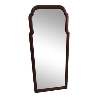 Vintage Henkel Harris Solid Mahogany Traditional Mirror For Sale