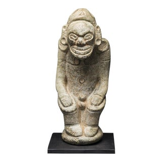 Taino Stone Zemi Sculpture For Sale