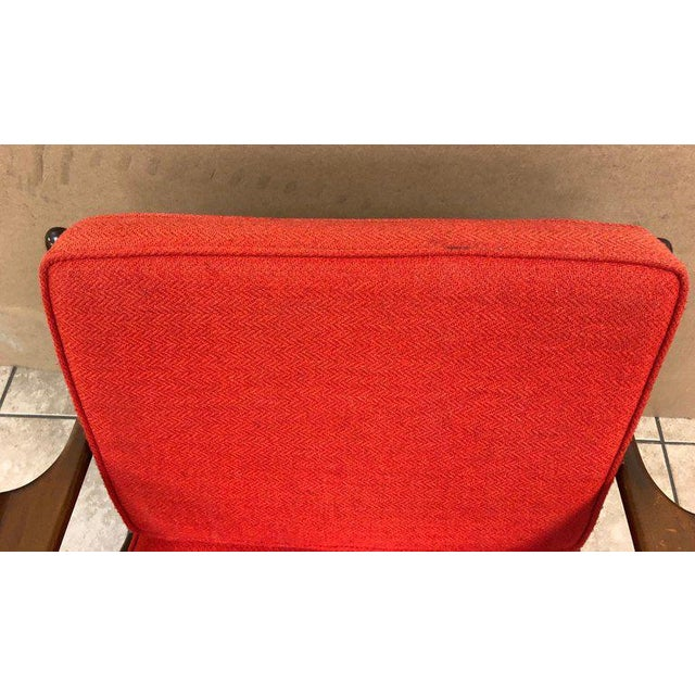 Fabric Poul Jensen Z Lounge Chair for Selig For Sale - Image 7 of 8