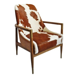 Mod Hyde Chestnut & Oak Chair For Sale