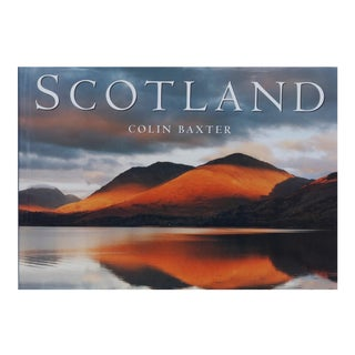 Scotland by Colin Baxter Signed Coffee Table Book