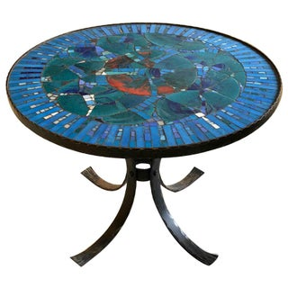 Glass Tile Mosaic Table