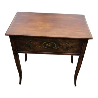 Vintage Michigan Furniture Writing Table Desk For Sale