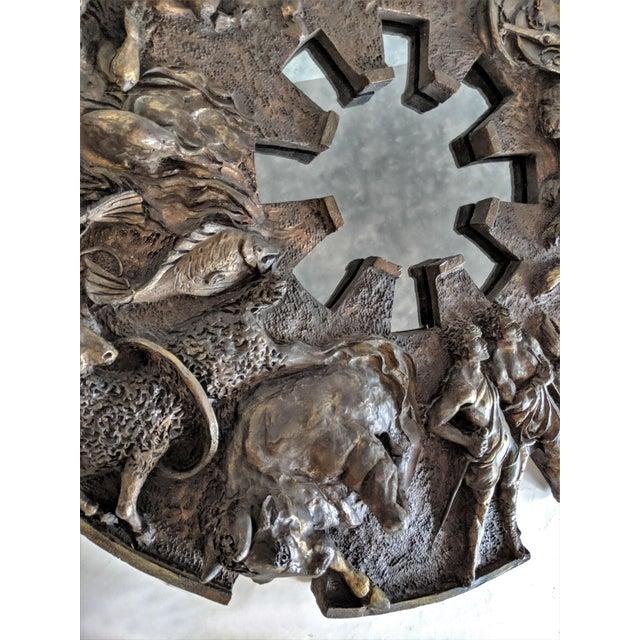 Bu Finesse Originals Zodiac Wall Mirror For Sale - Image 10 of 13
