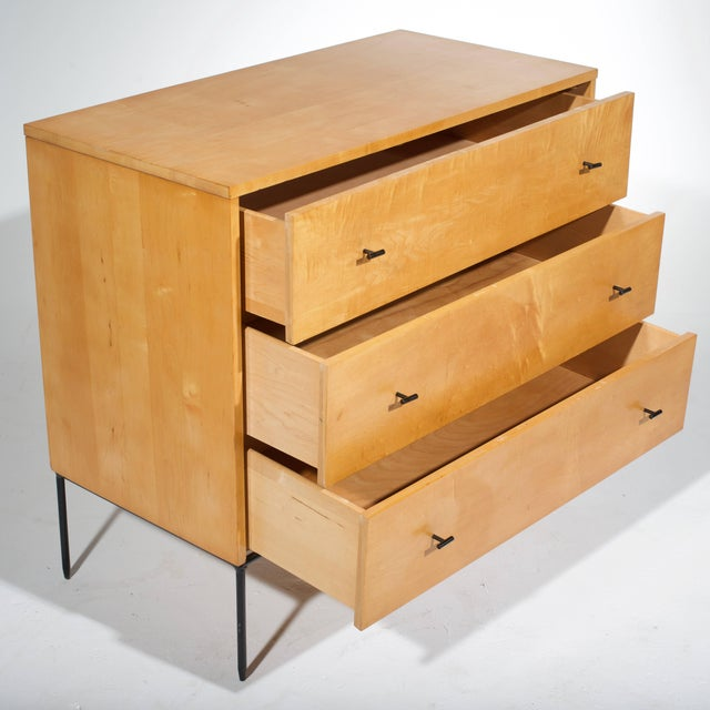 Three-Drawer Dresser by Paul McCobb for Planner Group in Natural Maple For Sale - Image 11 of 11