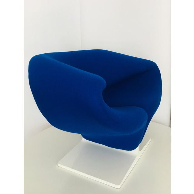 1960s 1960s Vintage Pierre Paulin for Artifort Space Age Ribbon Lounge Chair For Sale - Image 5 of 9