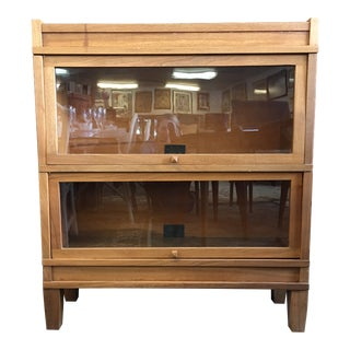 Early 20th Century Vintage Globe Wernicke Barrister Bookcase For Sale