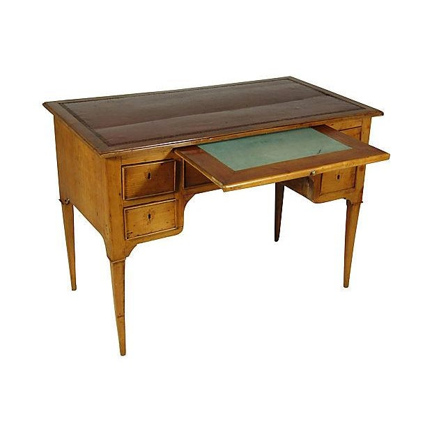 19th Century Directoire Bureau Plat - Image 5 of 7