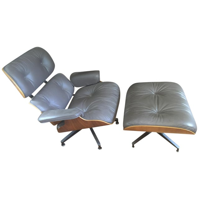 Herman Miller Eames Lounge Chair & Ottoman - Image 1 of 6