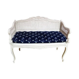 20th Century Swedish Louis XVI Style Settee For Sale