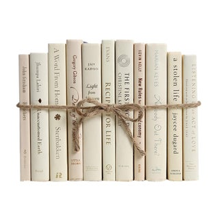 Modern Buttercream ColorPak : Decorative Books in Shades of Cream