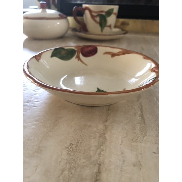 Vintage 1940s Franciscan China Apple Design American Backstamp Dinnerware - 54 Pieces For Sale In Los Angeles - Image 6 of 8