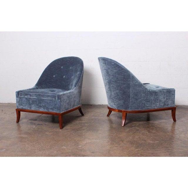 Pair of Slipper Chairs by t.h. Robsjohn-Gibbings for Widdicomb For Sale - Image 12 of 12