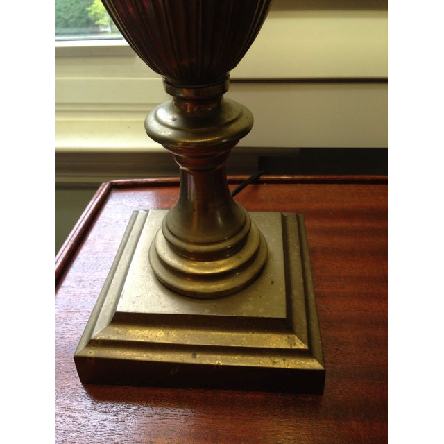Brass Trophy Lamps - A Pair - Image 7 of 9