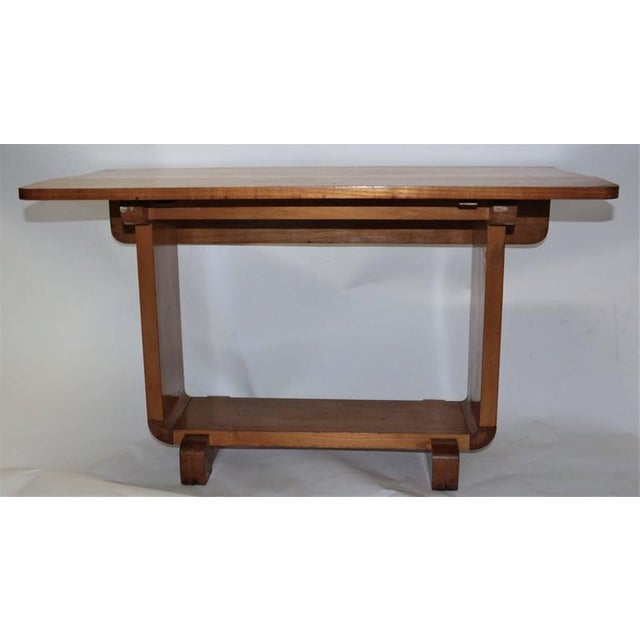 Shirley Temple's Art Deco Drop-Leaf Child Table - Image 2 of 10