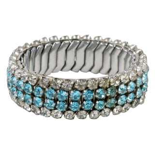 Expandable Rhinestone Bracelet For Sale