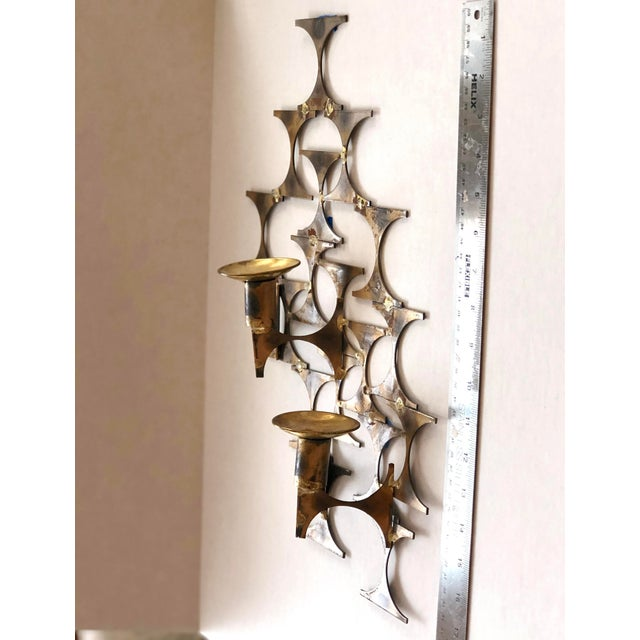 Modern Wall Sconce Sculpture by Mark Weinstein For Sale - Image 11 of 12